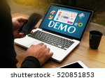 demo  demo preview  ideal  ...   Shutterstock . vector #520851853