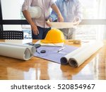 architect concept  architects... | Shutterstock . vector #520854967