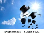 graduation ceremony  graduation ... | Shutterstock . vector #520855423