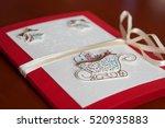 scrapbooking elements ... | Shutterstock . vector #520935883