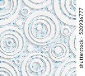 seamless bubble pattern.... | Shutterstock .eps vector #520936777