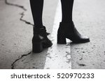beautiful women's shoes | Shutterstock . vector #520970233