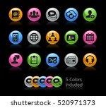 business network technology  ... | Shutterstock .eps vector #520971373