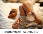 winter  coziness  leisure and... | Shutterstock . vector #520982617