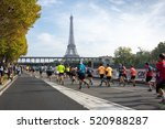 paris  france   october 11 ... | Shutterstock . vector #520988287
