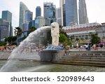 singapore  singapore   august 4 ... | Shutterstock . vector #520989643
