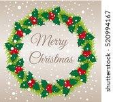 merry christmas. christmas...   Shutterstock .eps vector #520994167