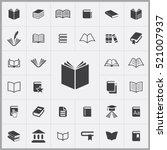 book icon. books icons...