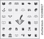 Book Icon. Books Icons...