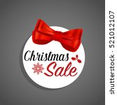end of year sale  christmas... | Shutterstock .eps vector #521012107