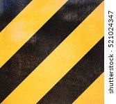 yellow and black marking grunge ... | Shutterstock . vector #521024347