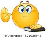 Emoticon Taking Oath Or...