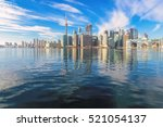 Beautiful Toronto Skyline With...