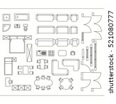 Architecture plan free vector art 5248 free downloads architectural drawing for planning construction and home improvement symbols used furniture and architecture plans icons malvernweather Images