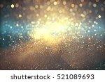 abstract  bokeh christmas... | Shutterstock . vector #521089693