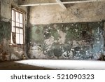 Damaged  Dirty Room Of Old...