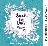 anniversary banner with... | Shutterstock .eps vector #521091277