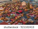Christmas Market In Dresden. I...