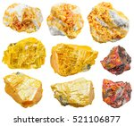 Set Of Various Orpiment...