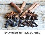 ingredients for cooking masala... | Shutterstock . vector #521107867