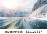 Scenic View Of The Road With...
