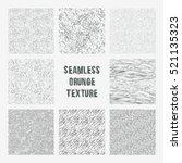 set of grange seamless patterns....   Shutterstock .eps vector #521135323