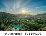 Aerial Sunrise Scene Of Suncit...