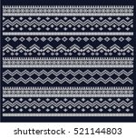 festive and fashionable sweater ... | Shutterstock .eps vector #521144803