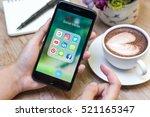 chiang mai  thailand   november ... | Shutterstock . vector #521165347
