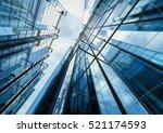 3d rendering highrise office...   Shutterstock . vector #521174593
