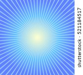 Sunburst Ray Blue Background...