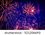 fireworks | Shutterstock . vector #521206693