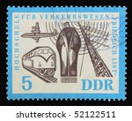germany   circa 1960s  a stamp... | Shutterstock . vector #52122511
