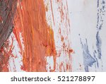 abstract painting on paper... | Shutterstock . vector #521278897