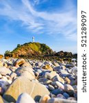 Small photo of Seascape with the old lighthouse on the Koh Lanta island,Thailand