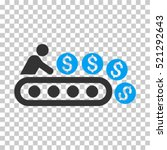 money production icon. vector... | Shutterstock .eps vector #521292643