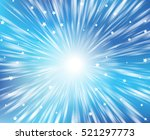 blue starry background with... | Shutterstock .eps vector #521297773