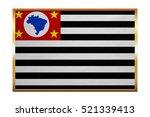 brazilian state of sao paulo... | Shutterstock . vector #521339413