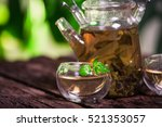 green tea | Shutterstock . vector #521353057