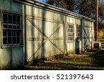 Old  Weathered Garage  Barn...