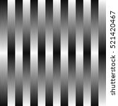 seamless monochrome geometric... | Shutterstock .eps vector #521420467