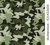 military camouflage background  ... | Shutterstock .eps vector #521422633