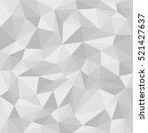 grey abstract polygonal... | Shutterstock .eps vector #521427637