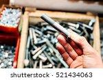 many fastening tools. | Shutterstock . vector #521434063