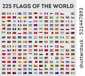 Flags Of The World Vector...