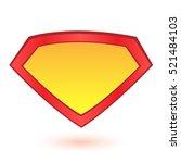 superhero logo template. vector ...   Shutterstock .eps vector #521484103