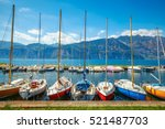 sailing boats yachts on garda...
