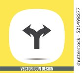 arrow two way vector icon....