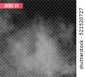 vector smoke special effect on... | Shutterstock .eps vector #521520727