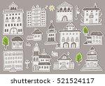 Hand Drawn Buildings Sketchy...